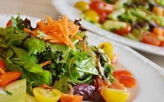 Гликемический индекс салата