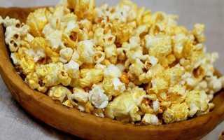 Гликемический индекс попкорна