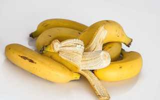 БЖУ банана
