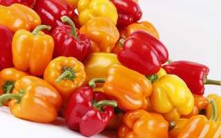 Гликемический индекс болгарского перца
